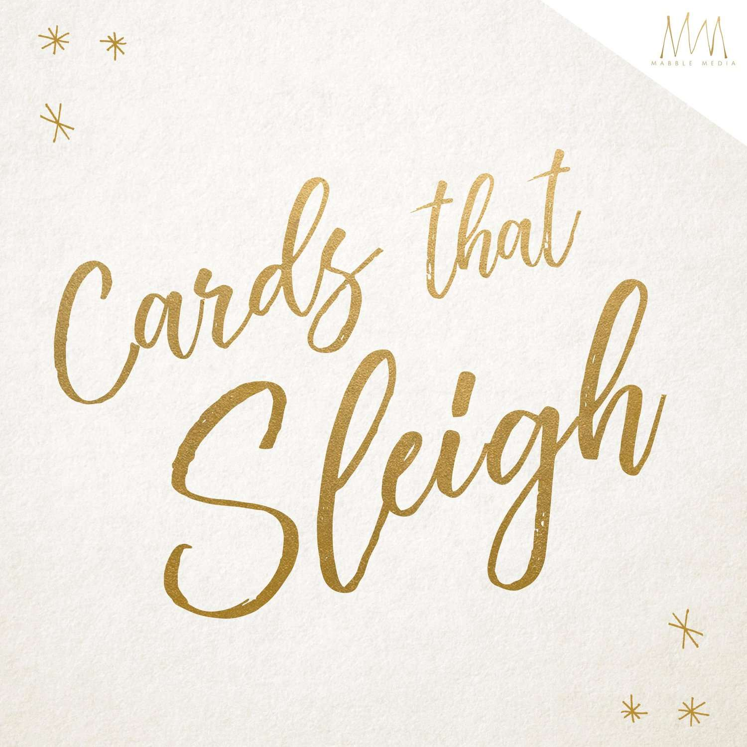 Mabble Media - Creative Agency | Card Mockup, perfect for Holiday and Christmas Cards!