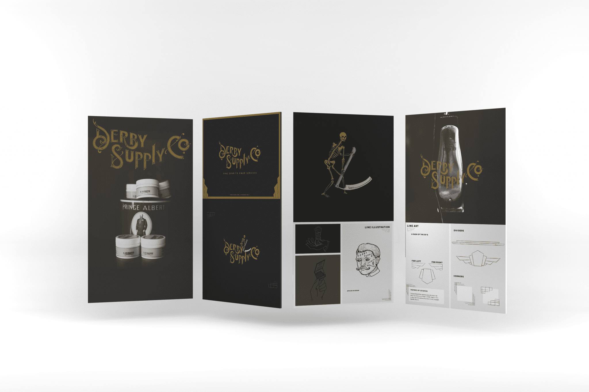 Mabble Media - Creative Agency | Derby Supply Co Brand Guide