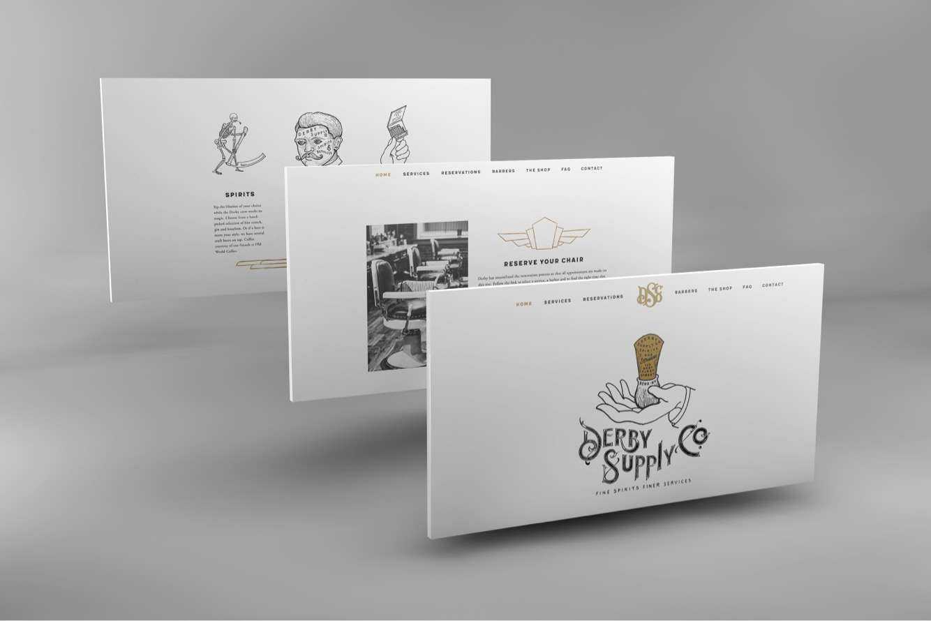 Mabble Media - Creative Agency | Derby Supply Co Brand Guide | Website | Photography