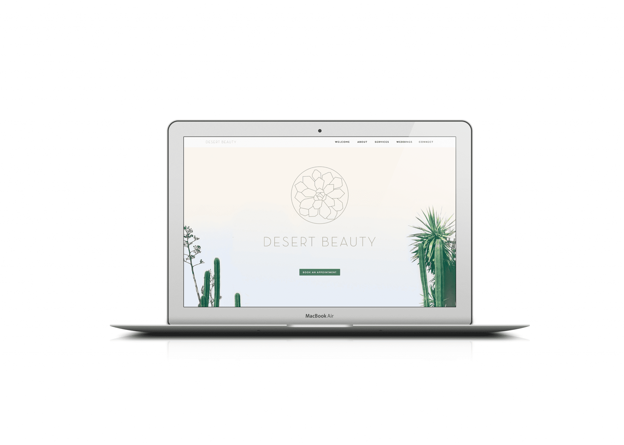 Mabble Media - Creative Agency | Desert Beauty Website Design