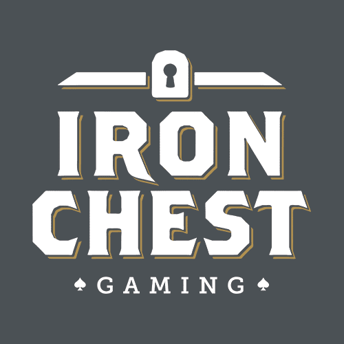 Mabble Media - Creative Agency | Iron Chest Gaming Logo | Brand Guide | Website
