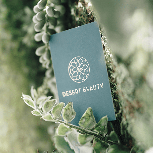 Mabble Media - Creative Agency | Desert Beauty Logo | Brand Guide | Website | Photography