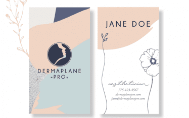 Mabble Media - Creative Agency | Dermaplane Brand Guide | Print | Website