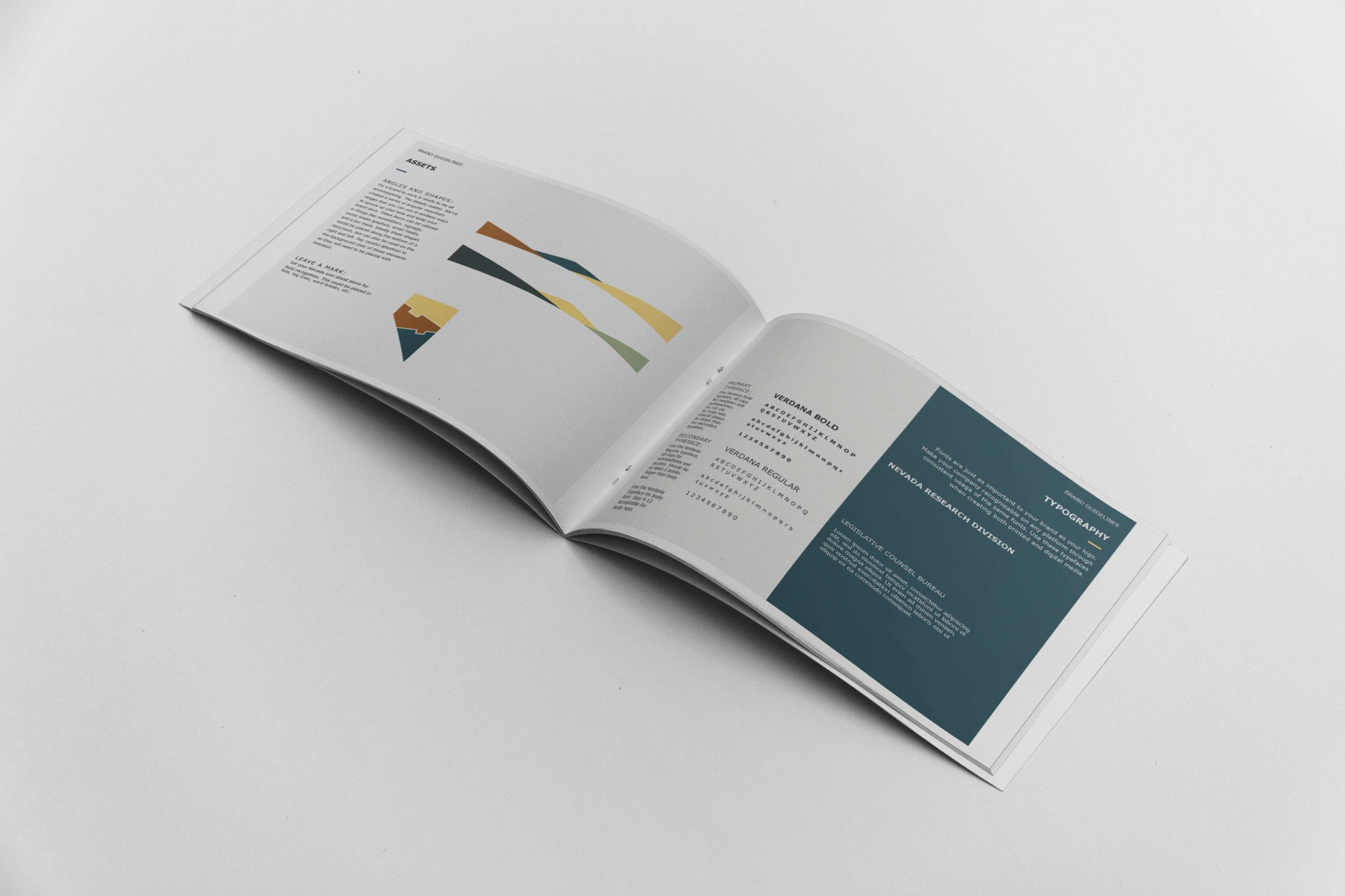 Mabble Media - Creative Agency | Nevada Research Division Brand Guide