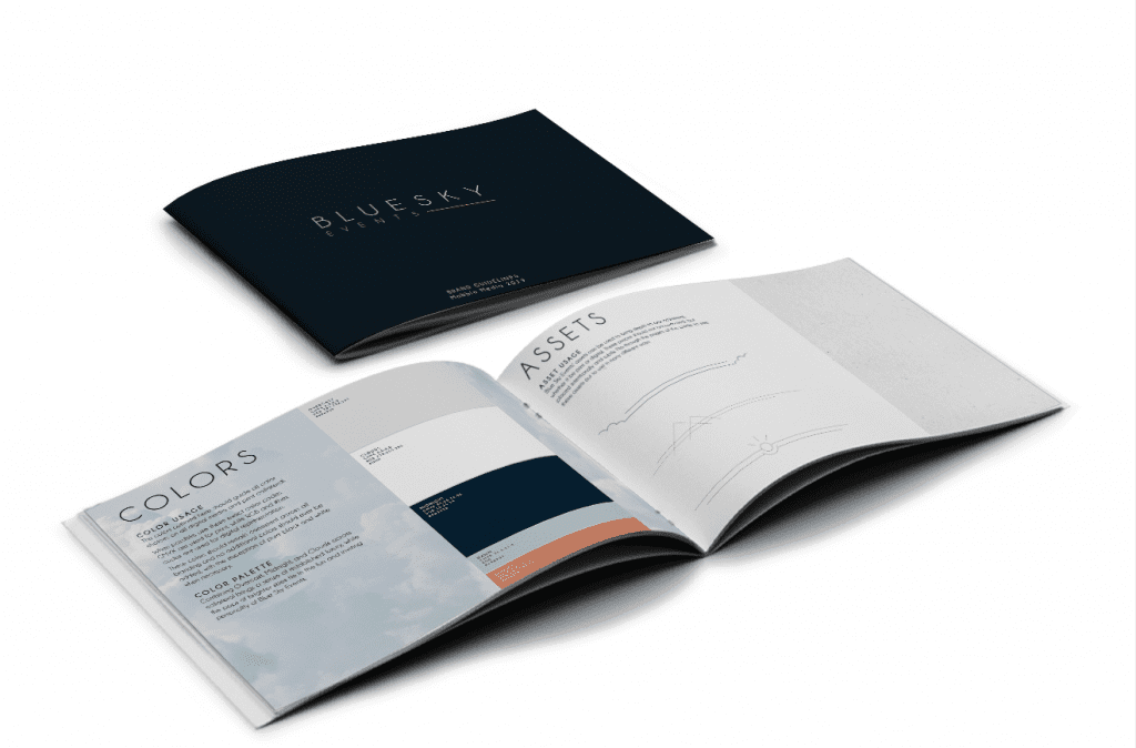 Mabble Media - Creative Agency | Westlook Logo | Brand Guide | Photography | Landing Page - Branding Booklet - brand kit