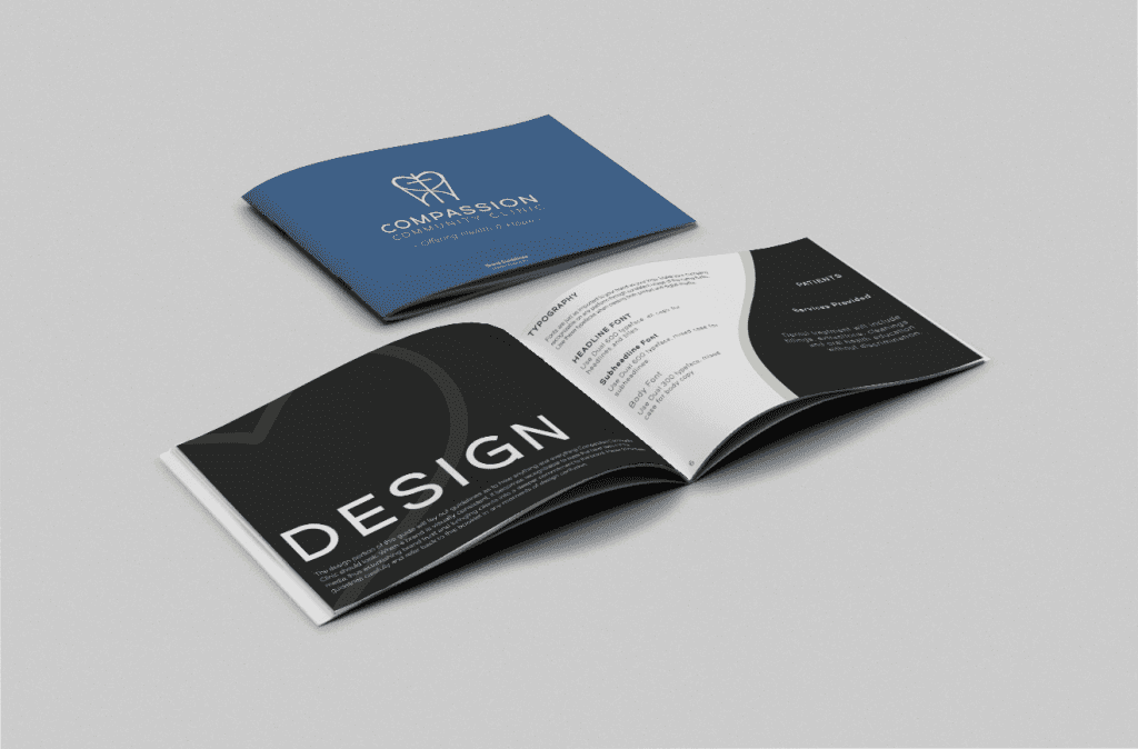 Mabble Media - Creative Agency | Compassion Community Clinic Logo Refresh | Brand Guide | Website - Branding Booklet