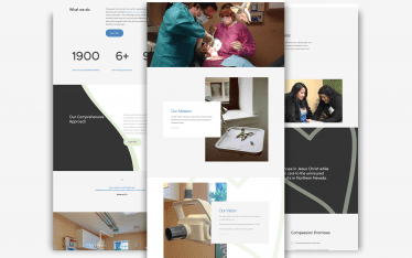 Mabble Media - Creative Agency | Compassion Community Clinic Logo Refresh | Brand Guide | Website - Website Graphic