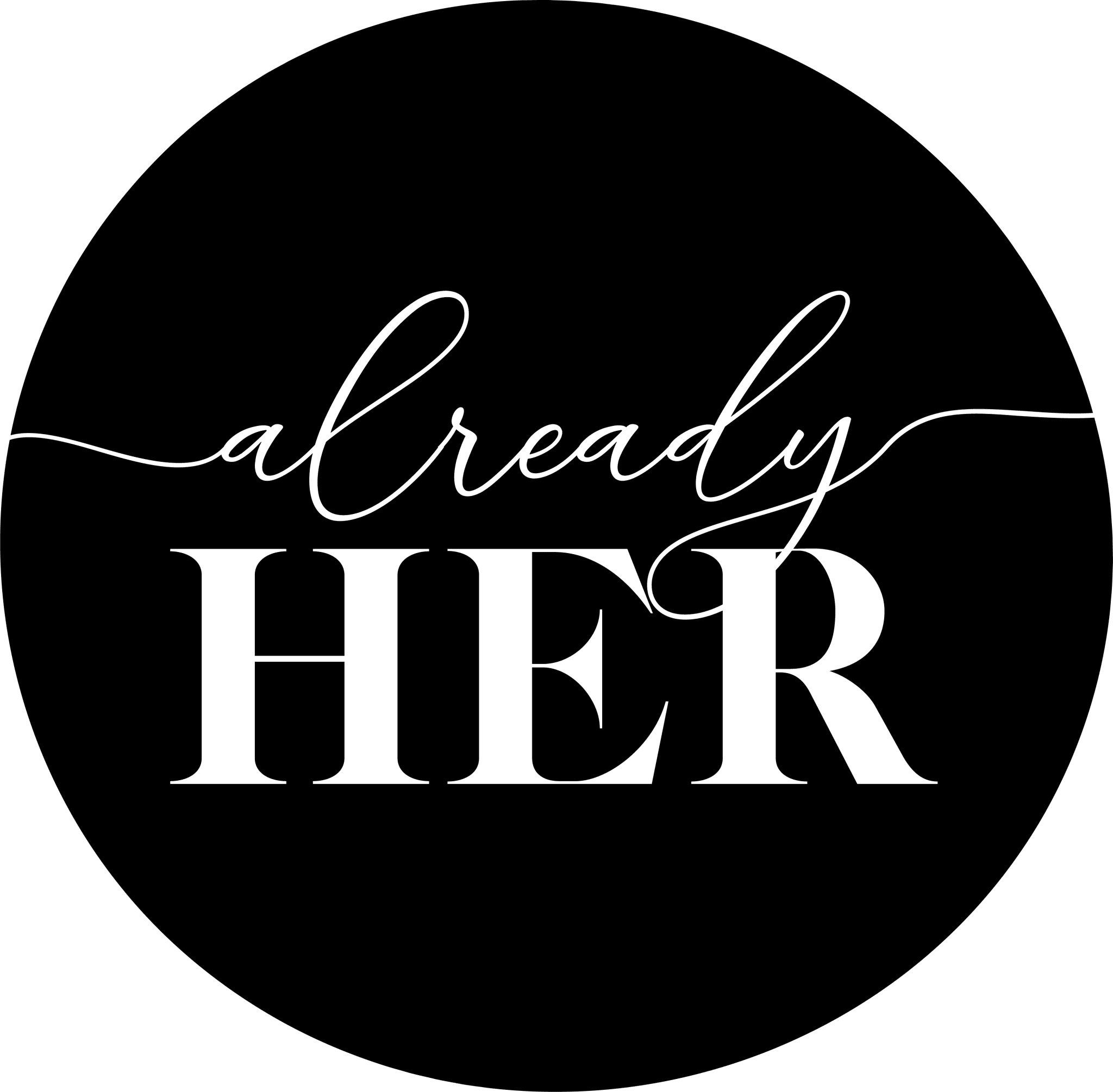 Mabble Media - Creative Agency | Already Her Logo | Brand Guide | Photography - Logo