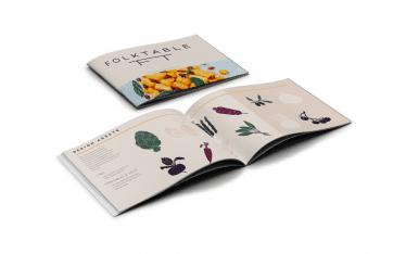 Mabble Media - Creative Agency | Folktable Logo | Brand Guide | Landing Page | Video - Branding Booklet