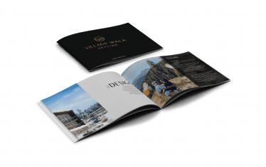 Mabble Media - Creative Agency | Village Walk Skyline Logo | Brand Guide | Video