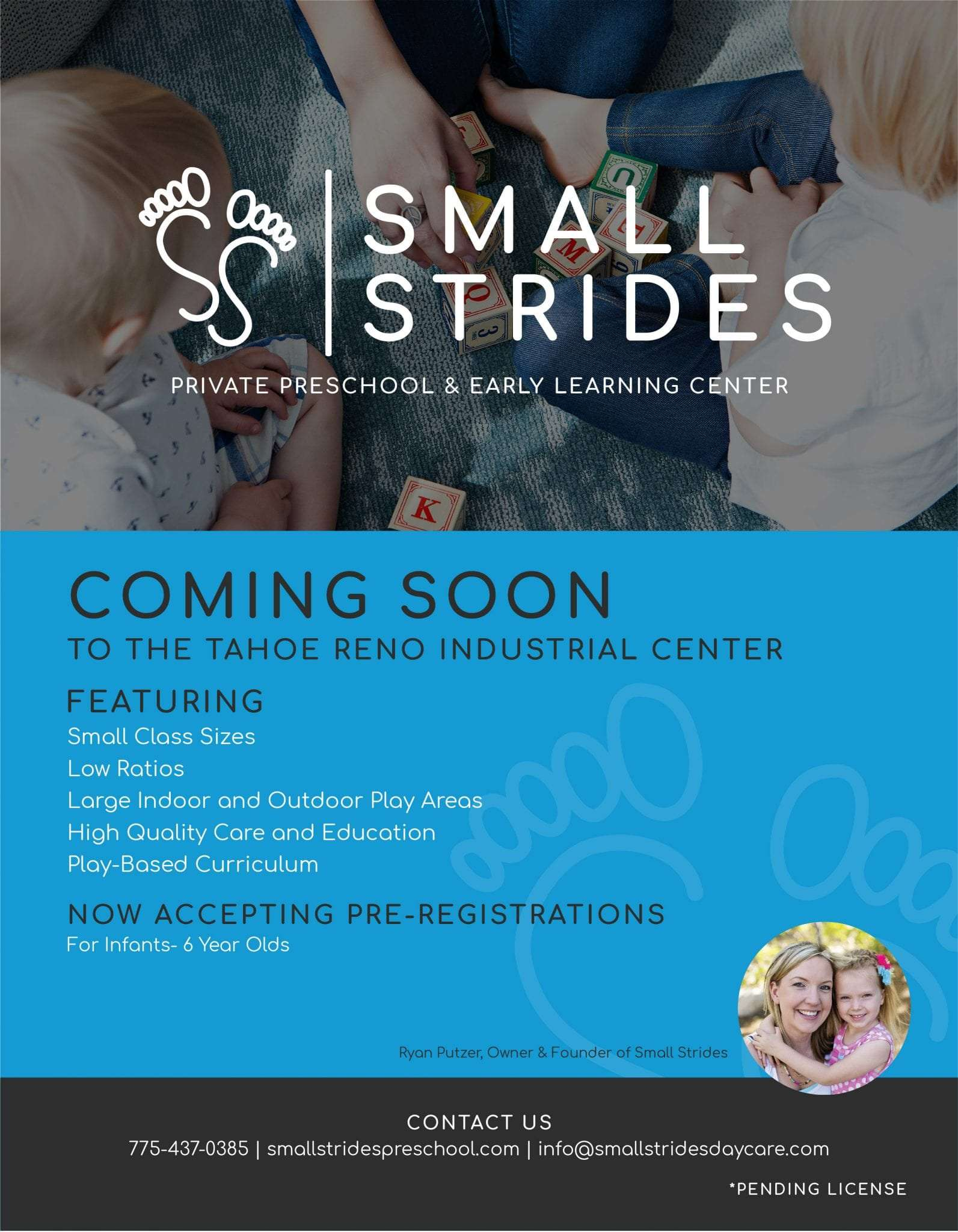 Small Strides Print